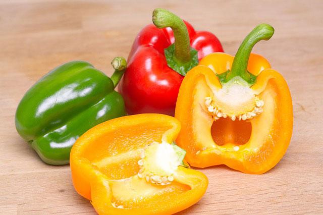 Squamish pepper plants
