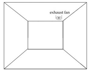 Attach exhaust fan