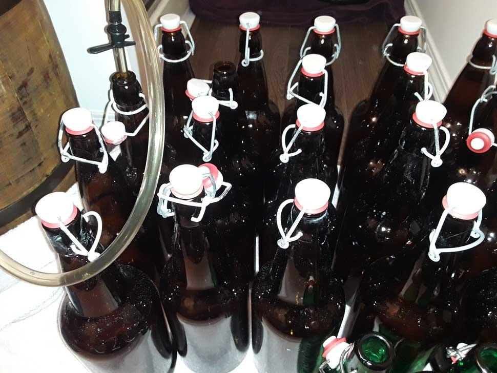 bottling apple cider